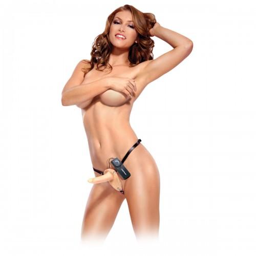 Страпон с вибратором для женщин