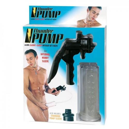 Вакуумный массажер-помпа для мужчин Thunder Pump
