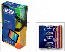 Презервативы CONTEX Colour, 12 шт.
