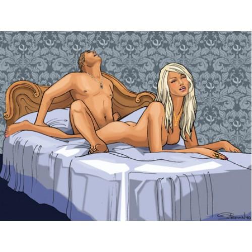 Каталог эротических поз для двоих Фанты
