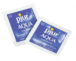 Пробник увлажняющего лубриканта pjur AQUA - 2 мл.