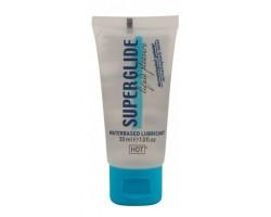Гель-смазка на водной основе для чувствительной кожи Superglide - 30 мл.