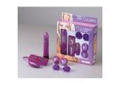 Фиолетовый эротический набор из пластика