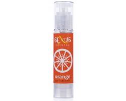 Увлажняющая гель-смазка с ароматом апельсина Crystal Orange -  60 мл.