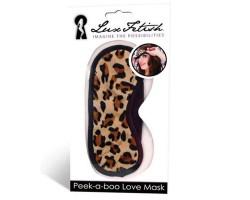 Леопардовая маска на глаза Peek-a-Boo