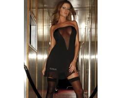 Соблазнительное платье без бретелей, M-L, розовый