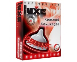 Презерватив LUXE  Exclusive   Красный Камикадзе  - 1 шт.