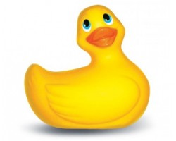 Жёлтый вибратор-утенок I Rub My Duckie малого размера