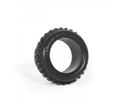 Чёрное эрекционное кольцо Grinder Ring
