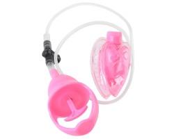 Вакуумная помпа с вибрацией Mini Pussy Pump Pink