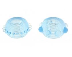 Набор голубых эрекционных колец POWER STRETCHY