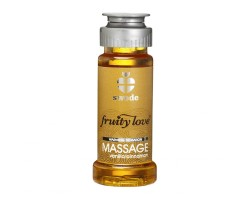 Лосьон для массажа Swede Fruity Love Massage Vanilla/Cinnamon с ароматом ванили и корицы - 50 мл.