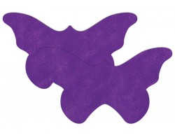 Фиолетовые пестисы в виде бабочек