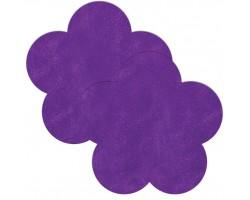 Фиолетовые пестисы в форме цветочков