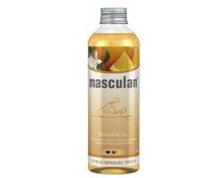 Массажное масло Masculan тонизирующее с цитрусовым ароматом - 200 мл.
