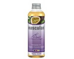 Расслабляющее массажное масло Masculan с ароматом тропических фруктов - 200 мл.