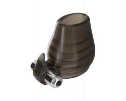 Дымчатое вольцо на пенис с вибрацией POWER BALL SNUCLER