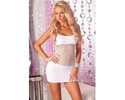 Бесшовное платье с вставкой из сетки на животике ADRENALINE SEAMLESS NET DRESS