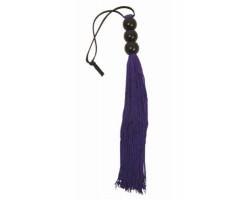 Фиолетовая мини-плетка S M SMALL WHIP - 25 см.