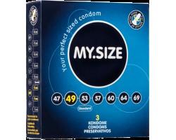 Презервативы MY.SIZE №3 размер 49 - 3 шт.