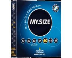 Презервативы MY.SIZE №3 размер 60 - 3 шт.