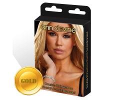 Браслет из золотистых кристаллов Stretch Tennis Bracelet, безразмерный, золотой