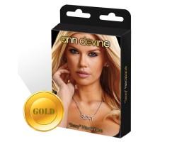 Цепочка с подвеской  SEXY , безразмерный, золотой