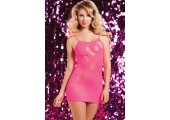 Бесшовное платье сердцеедки, S-M-L, розовый