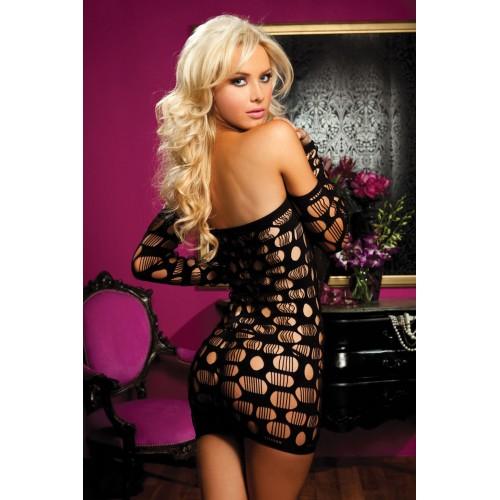 Облегающее платье SEXY DRIVE, S-M-L, черный