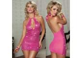 Сверкающее платье с пайетками, S-M-L, розовый