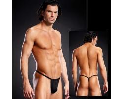 V-стринги для мужчин, L-XL, черный