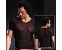 Сетчатая футболка, S-M, леопард