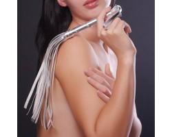 Серебристая мини-плеть Sitabella - 40 см.
