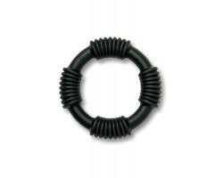 Черное эрекционное кольцо E-Ring