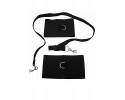 Чёрный комплект  S M ANKLE, WRIST AND TETHER 3PC KIT - 2 манжеты и поводок