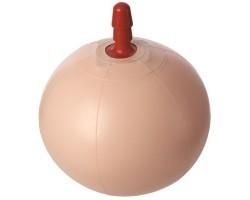 Надувной фитбол со штырьком для насадок Vac-U-Lock E-Z