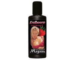 Массажное масло Magoon Strawberry - 50 мл.