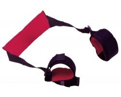 Манжеты на ноги с петлей на шею Restraint Harness