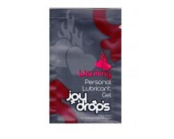 Разогревающая смазка JoyDrops Warming - 3 мл.