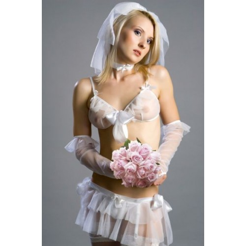 Костюм  Невеста Elle  , M-L, белый