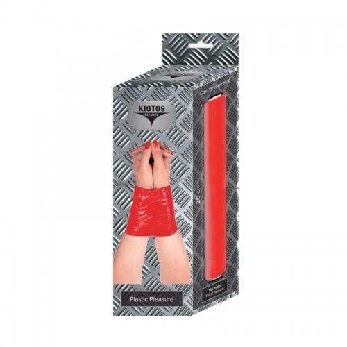 Рулон красной ленты для фиксации - 150 м.
