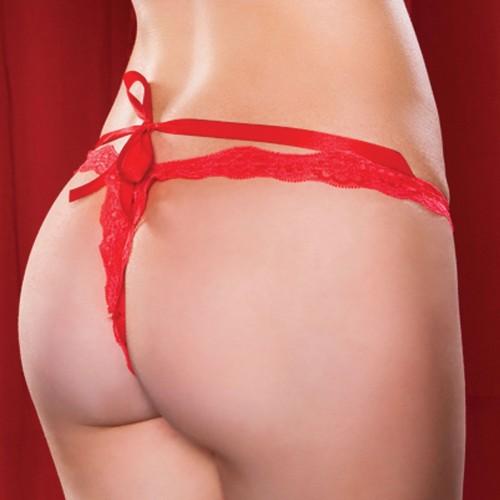 Трусики со шнуровкой Roxy, S-M-L, красный