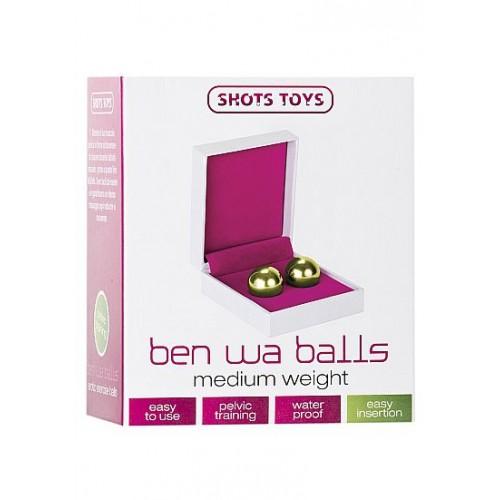 Средние металлические вагинальные шарики Ben Wa