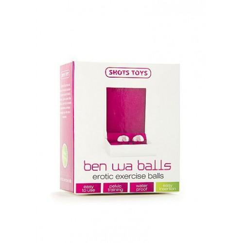 Серебристые вагинальные шарики Ben Wa