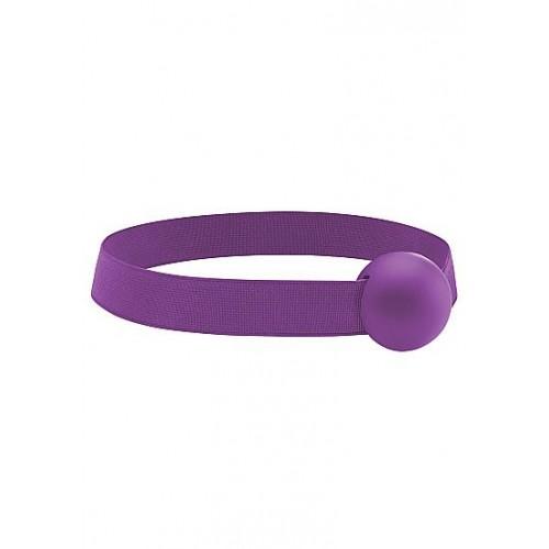 Кляп Elastic Ball Purple