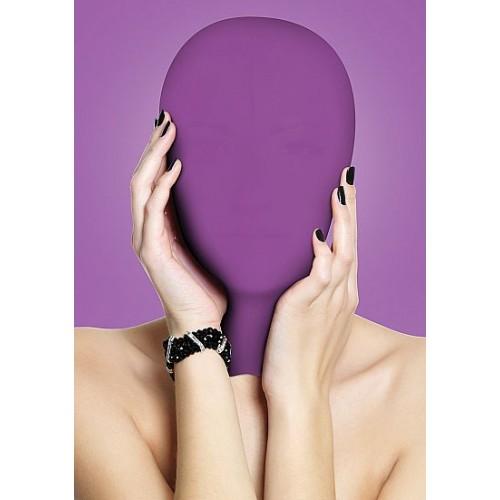 Закрытая фиолетовая маска на лицо Subjugation