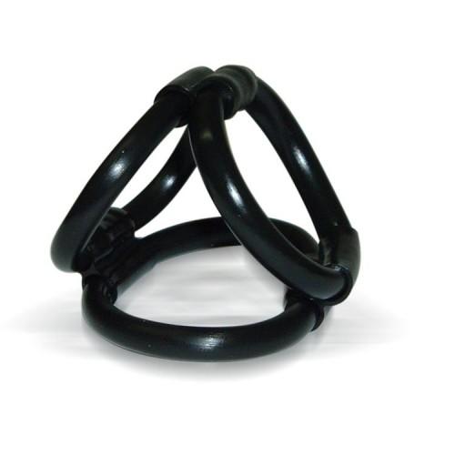 Эрекционное кольцо Tri Ring Cock Cage