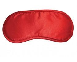 Красная маска на глаза Satin Blindfold