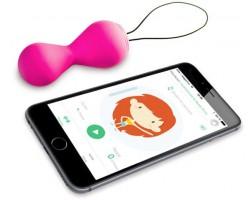 Розовые вагинальные шарики Gballs2 App