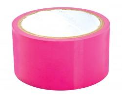 Розовая липкая лента для фиксации Sex Please! Dominate Me Self-Adhesive Bondage Tape